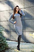 Женское платье из шерсти-полиэстер