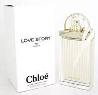 Тестер. Женская парфюмированная вода Chloe Love Story (Хлоэ Лав Стори), 75 мл