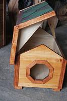 Будка для собак № 3 с утепленным полом,  Н400, 400*600
