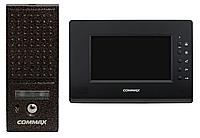 Комплект видеодомофона Commax CDV-71AM Classic Black