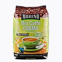 Кофе в зернах Moreno Bio Caffe Crema naturmild 1кг