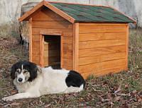 Будка для собак XL № 2 с утепленным полом,  Н850, 800*1150