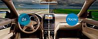 Евро тонировка (без передних стекол) легковое авто премиум класс