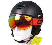 Горнолыжная маска Copozz GOG-201 Orange/Mirror Orange