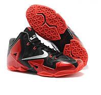 Баскетбольные кроссовки Nike LeBron XI 11 Miami Heat, фото 1