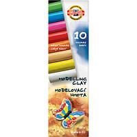 Пластилин Koh-I-Noor 10цв 200г