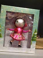 Игрушка новогодняя керамическая Розочка