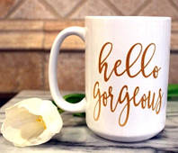 Печать фото на чашках керамических белых больших