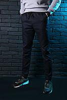 Мужские штаны карго темно-синие