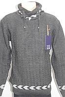 Стильный мужской турецкий свитер под горло