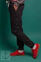 Мужские штаны карго черные