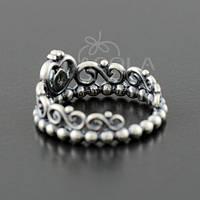 """Кольцо PANDORA (ПАНДОРА) """"Серебряное кольцо Тиара Принцессы"""" из серебра для браслета"""