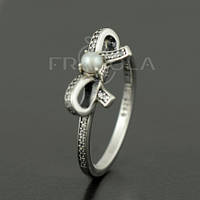 """Кольцо PANDORA (ПАНДОРА) """"Кольцо нежное отношение"""" из серебра для браслета"""