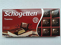 Шоколад черный Шогеттен Schogetten Tiramisu 100г.