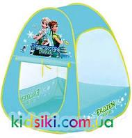 Детская игровая палатка домик Холодное сердце Frozen