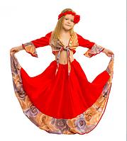 Детский карнавальный костюм Цыганки для девочки