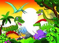 """Детские Фотообои """"Динозавры в зарослях"""" , фото 1"""