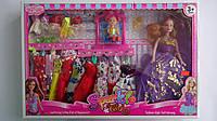 """Кукла типа Барби """"Sparkle"""" с набором одежды,куколкой и качелью в коробке 500*340*60 мм.Игровая кукла типа Барб"""