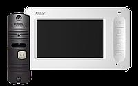 Комплект видеодомофона Arny AVD-4005 Mini White