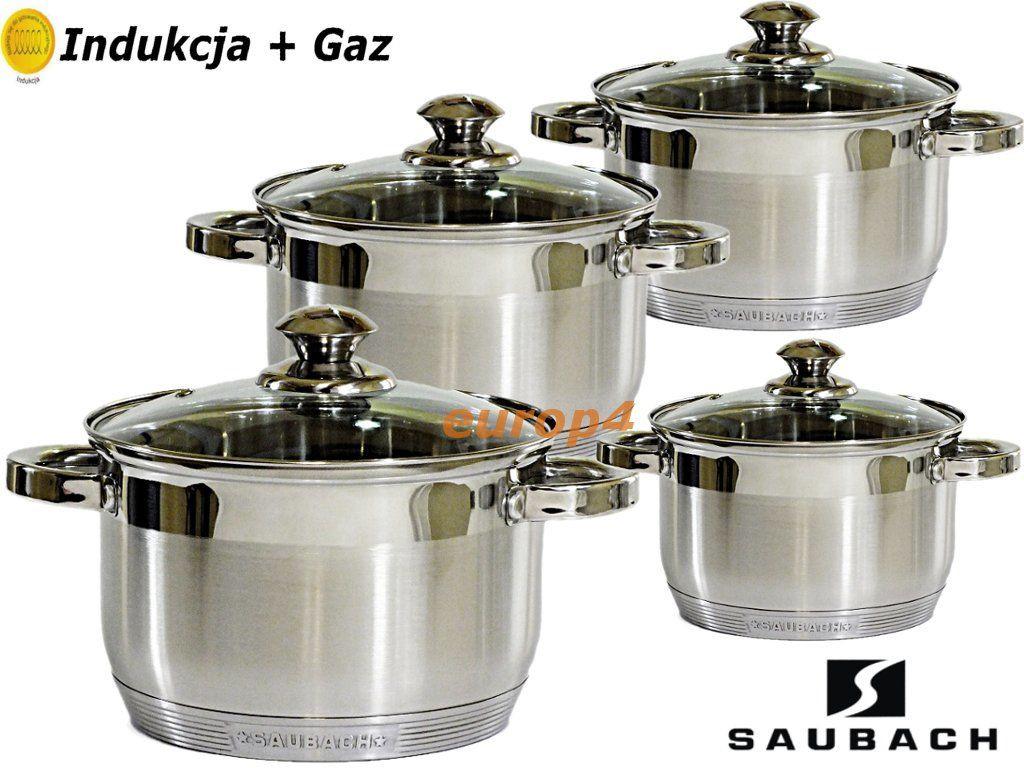 Немецкий набор кастрюль Saubach