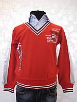 Рубашка-обманка детская на мальчиков 86,92,98 роста Red