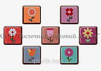 Формы для шоколада с переводным рисунком Modecor — Цветы №2