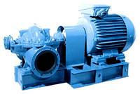 Д320-50а - Горизонтальный насос для воды двустороннего входа