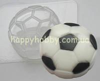"""Пластиковая форма для мыла """"Футбольный мяч"""""""