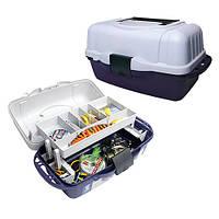 Ящик для рыболовных снастей  Aquatech 1 полка 2701