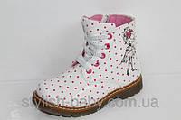 Детская демисезонная обувь бренда С.Луч для девочек (рр. с 27 и 29)