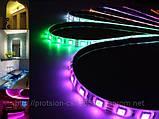 Светодиодная лента RGB с пультом и контроллером + БП, фото 3