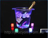 Светящийся кубик льда