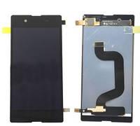 Дисплей (LCD) Sony D2202/ D2203/ D2206/ D2243 Xperia E3 с сенсором черный оригинал