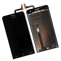 Дисплей (LCD) Asus ZenFone 5 (A500CG/ A500KL/ A501CG) с сенсором черный