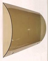 Закаленное гнутое стекло.козырьки, навесы, душевые кабины, .