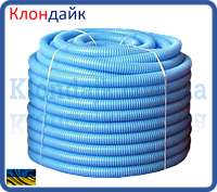 Гофрированная труба пешель 29-34 (синий)