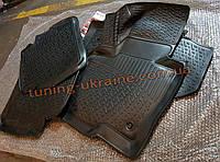 Коврики в салон полиуретановые LadaLoker 4шт. для Hyundai Santa Fe 2006-2010 (ТАГАЗ)
