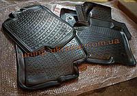 Коврики в салон полиуретановые LadaLoker 4шт. для Hyundai Sonata 5 2004-2009 (ТАГАЗ)