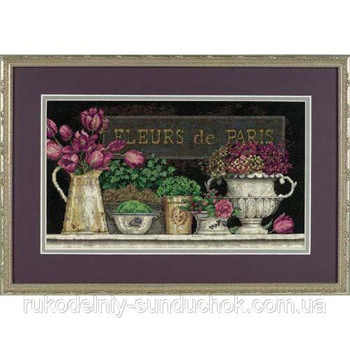 """Набор для вышивания крестом Dimensions """"Цветы Парижа//Fleurs de Paris"""" 35093"""