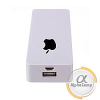 Корпус Power BANK (без АКБ, 2×18650) Apple (copy) white AP2WH
