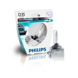 Philips Xenon X-tremeVision D3S +50%, фото 2