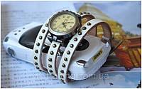 Винтажные часы браслет JQ retro white