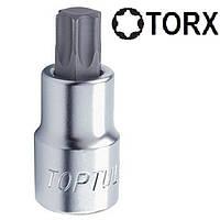 """Головка с насадкой TORX T40 37mm 1/4"""""""