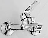 Смеситель кран с лейкой для ванной комнаты, фото 2