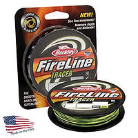 Шнур Berkley FireLine Fused Tracer EFLNFS25-TR 110m 0,25mm 17,5kg
