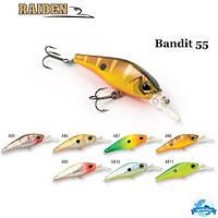 Воблер Raiden Bandit 55 4 гр.