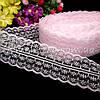 Кружево Анжелика  4 см, светло-розовый