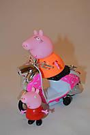 Свинка Пеппа и её мама на мотоцикле (Peppa Pig) 2 шт