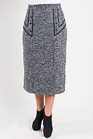 Женская теплая юбка для деловых встреч