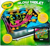 Набор для рисования Crayola Glow Tablet световой планшет